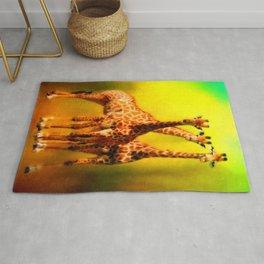 The Welcoming Committee - 3 Giraffes Rug