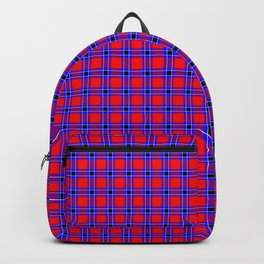 Masai African Pattern Backpack