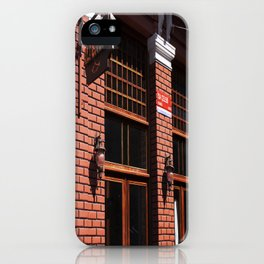 Red Brick Wall... iPhone Case