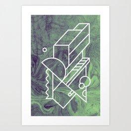 No 2 Art Print