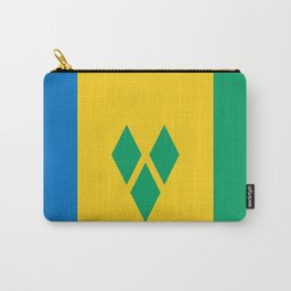 St. Vincent And The Grenadines Flag Carry-All Pouch