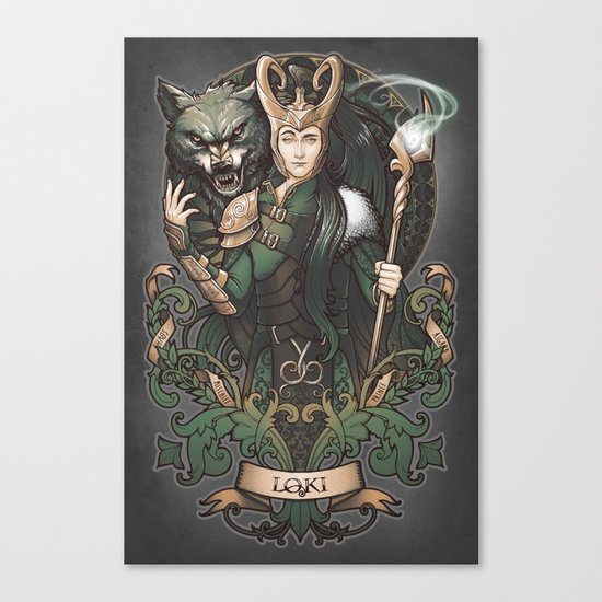 House of Loki: Sons of Mischief Canvas Print