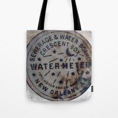 Street Water Meter - New Orleans LA Tote Bag
