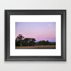 Dusk II Framed Art Print