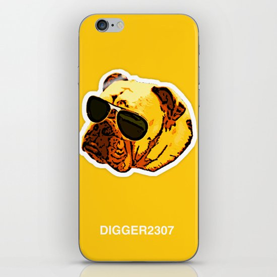 Aviator Angus iPhone Skin