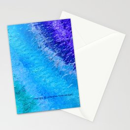 """Sign Painter Palette"" Oil Painting Stationery Cards"