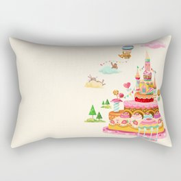 Ice Cream Castles In The Air Rectangular Pillow