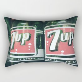 Heads Up 7up! Rectangular Pillow