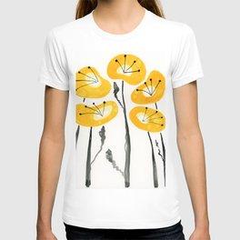 Yellow Poppies T-shirt