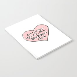 sincerely yours Notebook