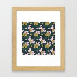 Jungle Floral Framed Art Print