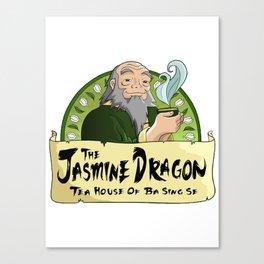 The Jasmine Dragon Tea House Canvas Print