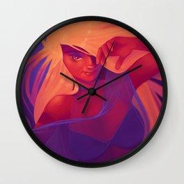 Good Morning, Sleepy Head Wall Clock