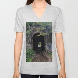The Screaming Tunnel Unisex V-Neck