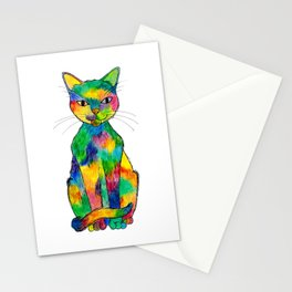 Rainbow Cat Stationery Cards