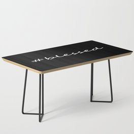 #blessed black and white Coffee Table