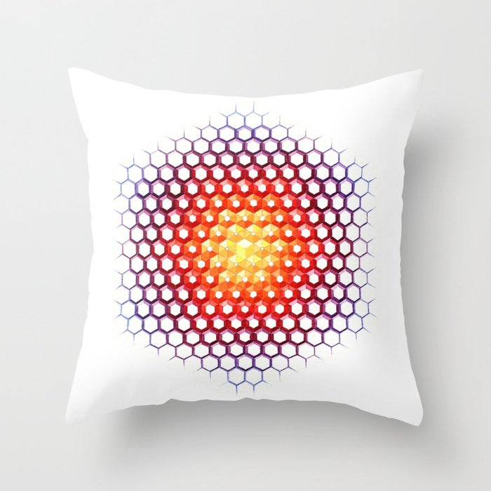Solcryst Throw Pillow