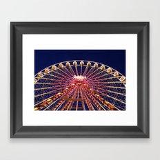 Ferris Wheel. Framed Art Print