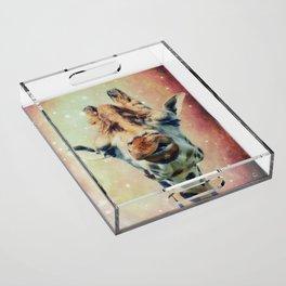 The giraffe Acrylic Tray