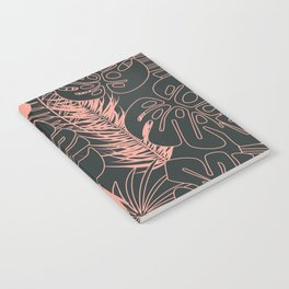 Tropical pattern 034 Notebook