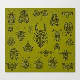 Nouveau Beasts Canvas Print