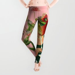 fish soul mate pink #collage Leggings