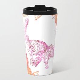 Australian Native Floral print with possum Travel Mug