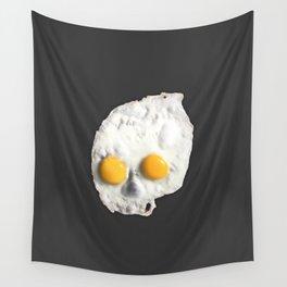 Egg Skull Wall Tapestry