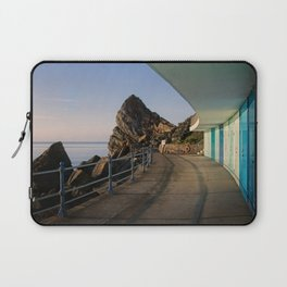 Meadfoot Beach Huts Laptop Sleeve