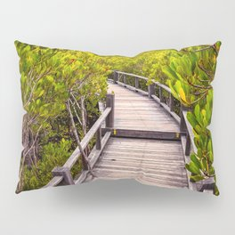 Mangrove Forest Sunset Pillow Sham