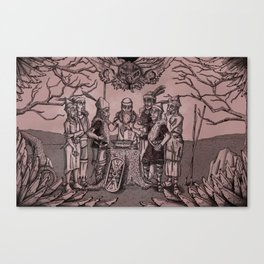 Folklore Canvas Print