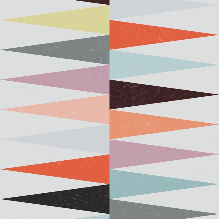 Colorful Peaks Duvet Cover