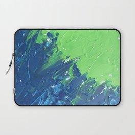 Blue & Green, No. 1 Laptop Sleeve