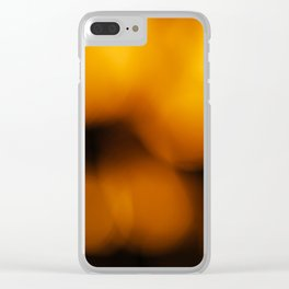 Warm Night Clear iPhone Case