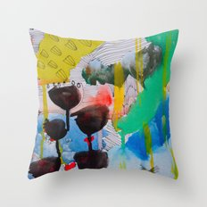 There is nothing better than bad weather Throw Pillow