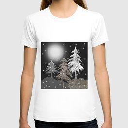 Christmas night T-shirt