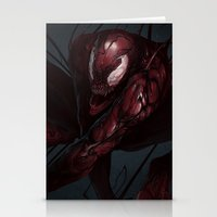 carnage Stationery Cards featuring Carnage by MATT DEMINO
