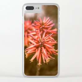 San Diego flowers Clear iPhone Case