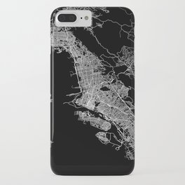 oakland map california iPhone Case