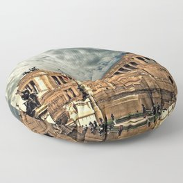 Vittorio Emanuele Monument Palace Rome Italy Floor Pillow