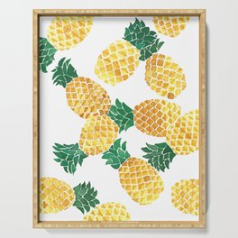 Summer Pineapple Goodness Serving Tray