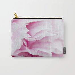Pink Flower Petals Carry-All Pouch