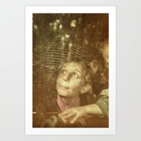 child Art Prints featuring Child by Adrian Rosu