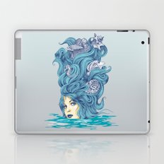 Ocean Queen Laptop & iPad Skin