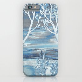 Frosty Sunset iPhone Case