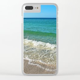 Unraveled Uncertainty Clear iPhone Case