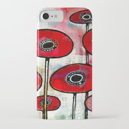 Poppies #4 iPhone Case