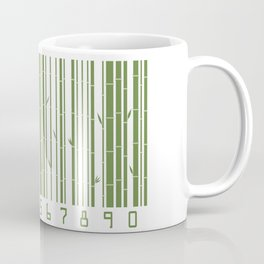 Bamboo Barcode Coffee Mug