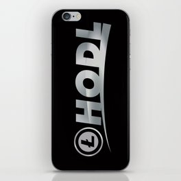 Litecoin Hodl (Hold) iPhone Skin