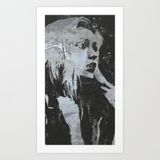 'in the mourn Art Print